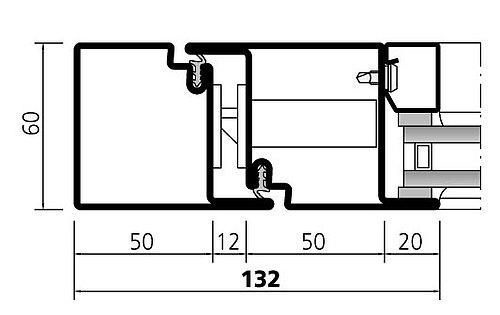 Profilsystem aus Stahl forster presto 60s