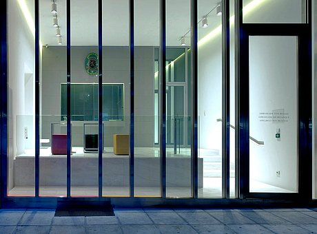 Bullet-proof door and glazing with thermal break, forster unico