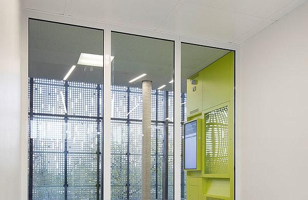 Brandschutzverglasung, forster fuego light Technikum für Mikrotechnologien (Technische Universität) Dresden