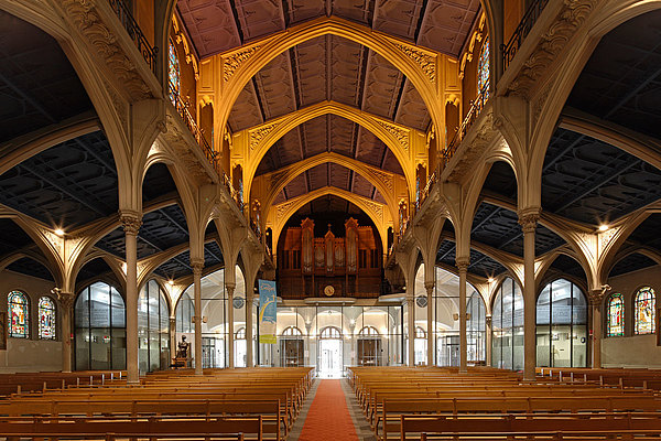 fire-resistant and smoke protection doors E30, forster presto and forster thermfix light Church Saint Honoré d'Eylau, Paris