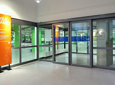 fire-resistant sliding door and glazing, forster fuego light