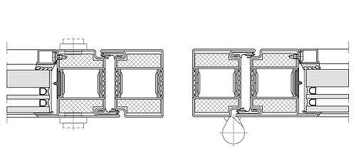 Brandschutztür mit Wärmedämmeung EI30, forster unico