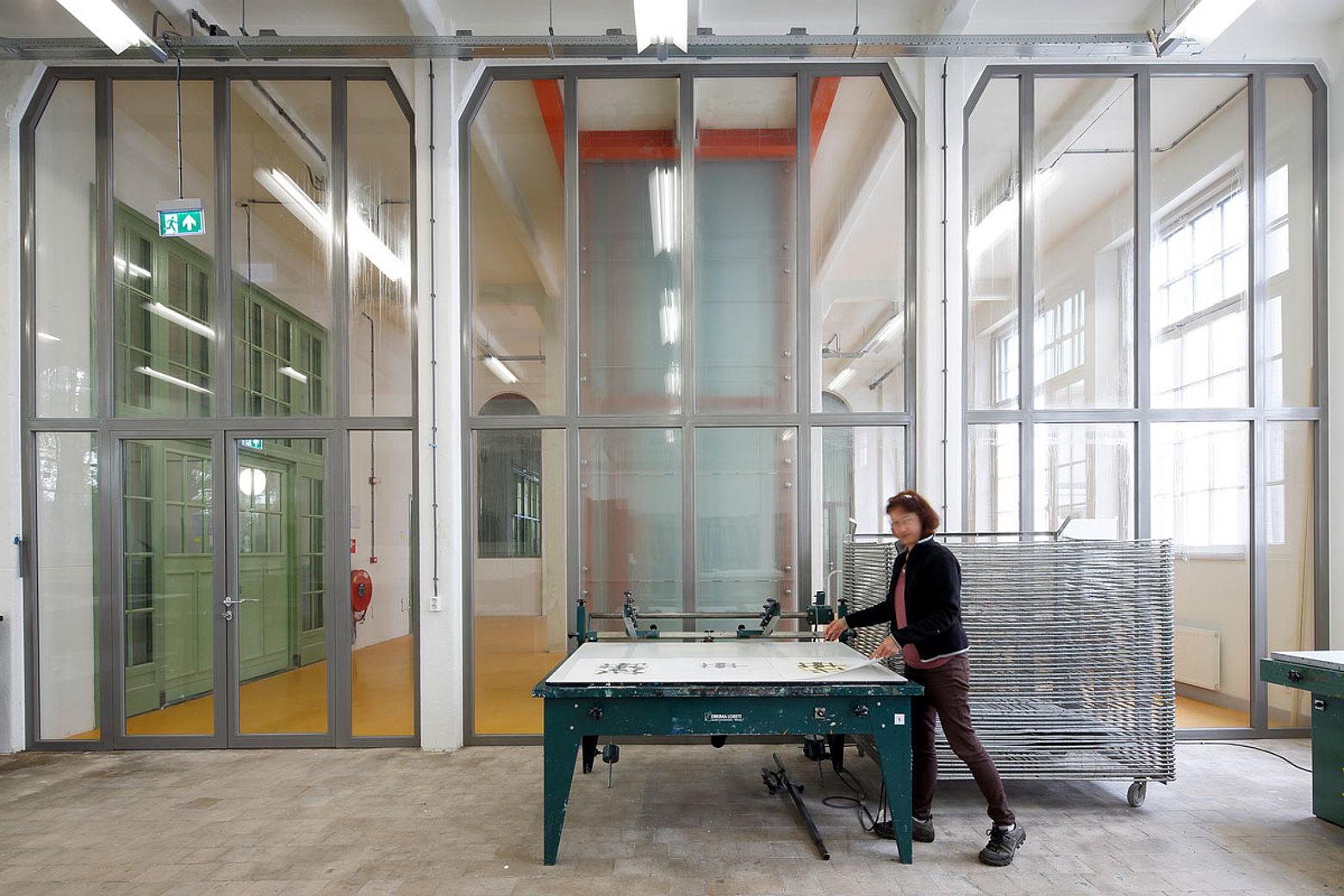 Brandschutztüren und Verglasungen EW60 in Stahl, forster presto. Willem 2 fabriek, NL-Hertogenbosch Brandschutztüren, Verglasungen, EW60, Stahl, forster presto,