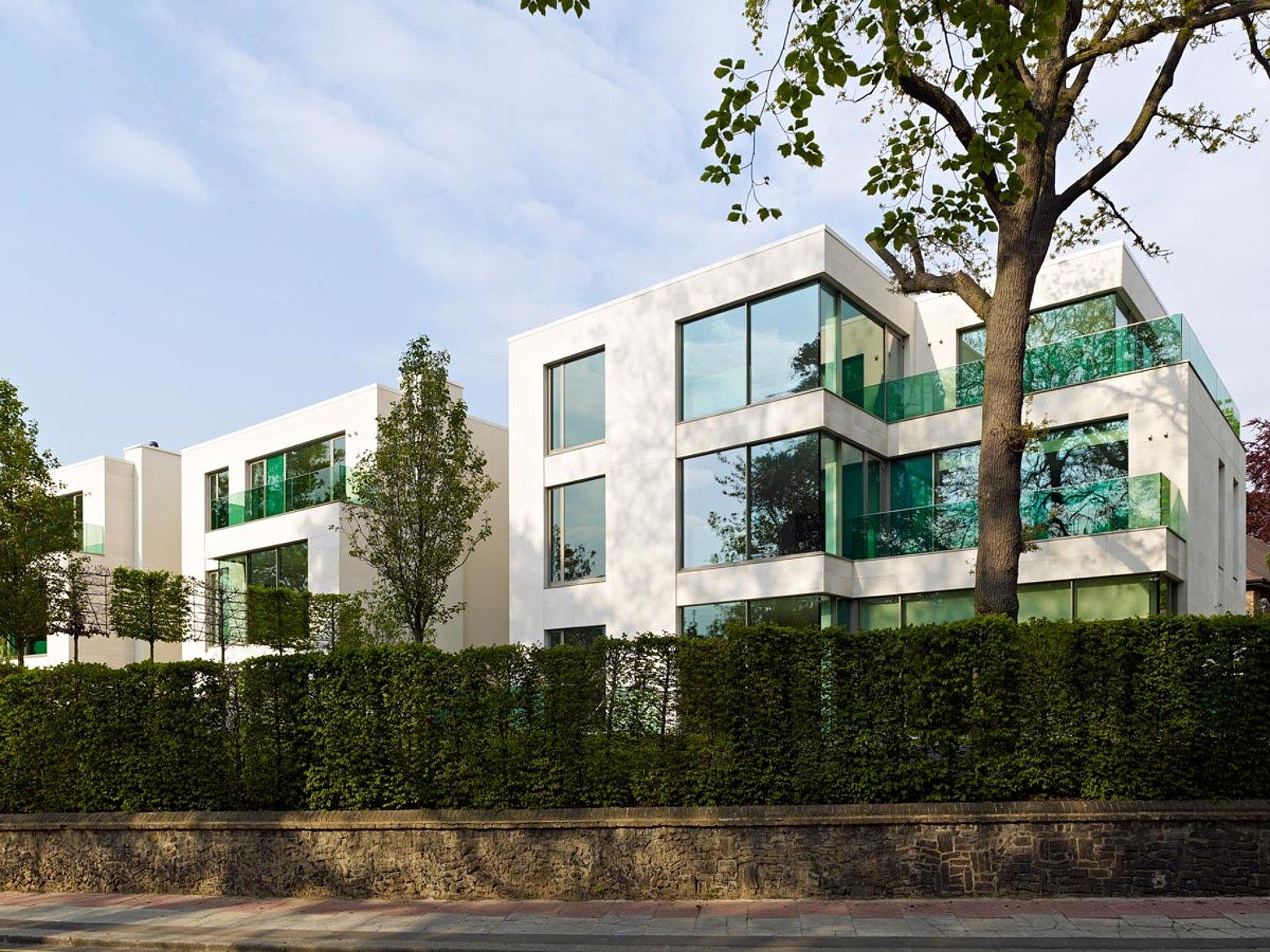 Wärmegedämmte Fenster, Türen und Verglasungen, forster unico Heath West, GB-London