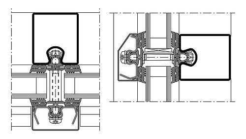 Wärmegedämmte Fassade aus Stahl für Sicherheitsanwendungen. Profilsystem: forster thermfix vario. Die Pfosten-Riegel Fassade forster thermfix vario bietet Sicherheitsanwendungen für Brandschutz, Einbruchhemmung und Durchschusshemmung.