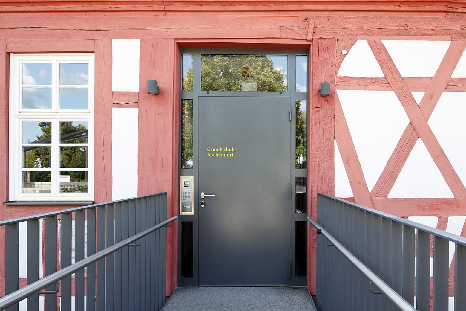 thermal insulated sheet metal entrance door, forster unico