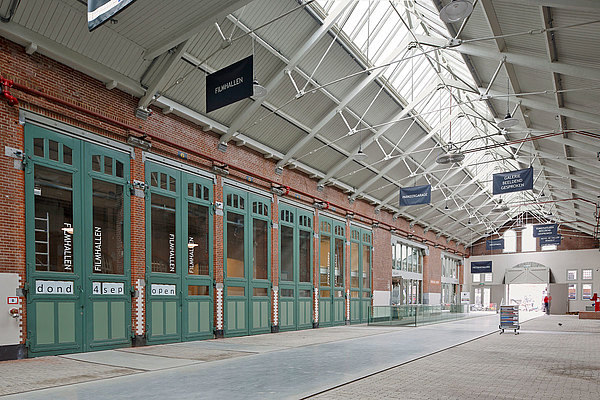 Thermally insulated roof glazing forster thermfix light. Tramremise De Hallen, Amsterdam
