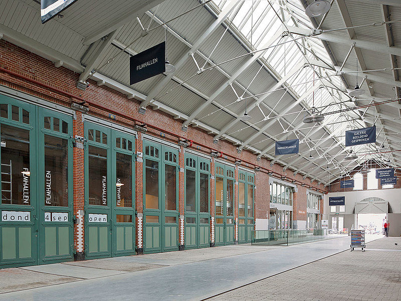 Dachverglasung mit Wärmedämmung forster thermfix light. Tramremise De Hallen, Amsterdam
