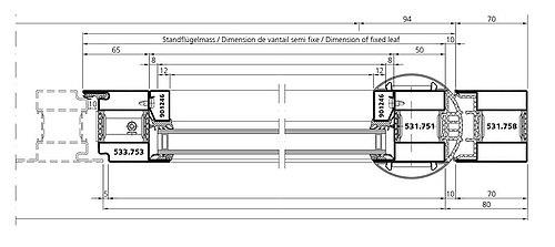 finger protection door in steel, forster unico
