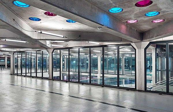 Verglasungen Feuerschutz EI60 forster fuego light Parking de la Gare, Nancy