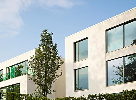 thermal insulated steel windows. profile system: forster unico