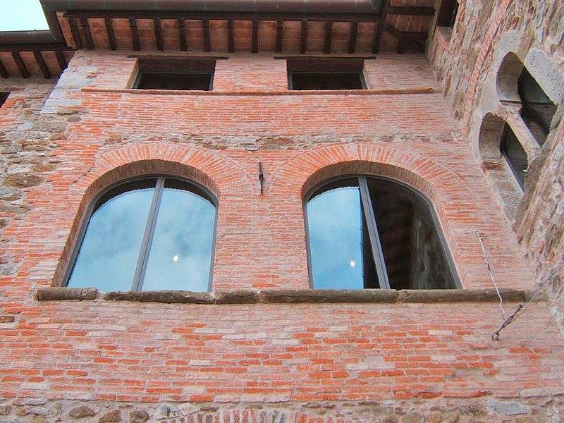 Stahlfenster ohne Wärmedämmung. System: forster presto.