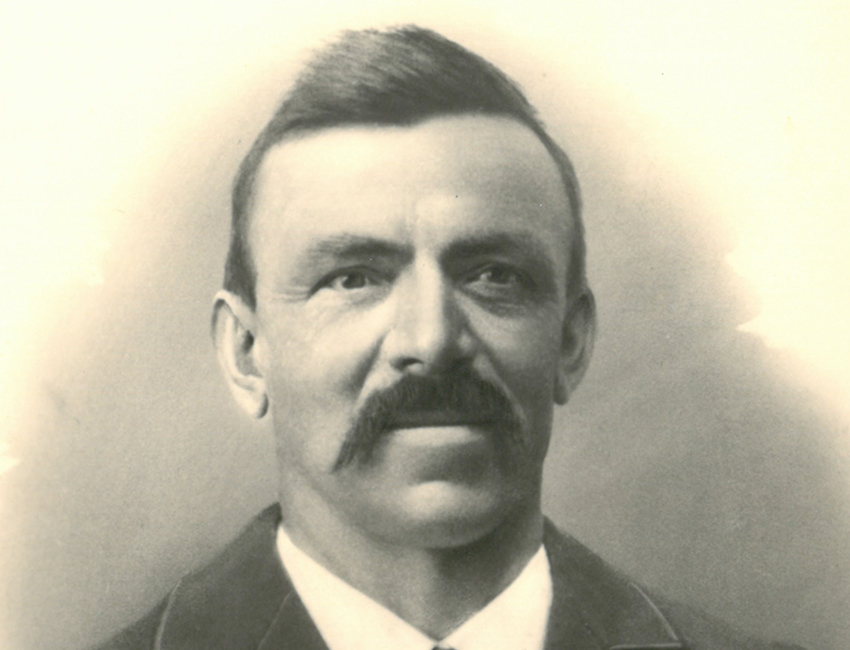 der Gründer F.J. Forster