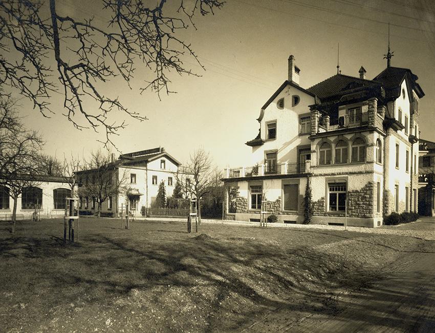 das alte Gebäude der Fertigung in Arbon in der Schweiz