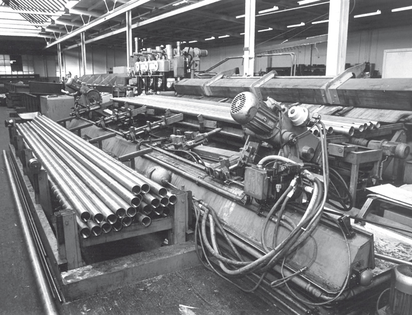 the production site for the steel tubes