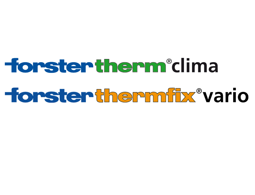 extension des systèmes forster therm et forster thermfix