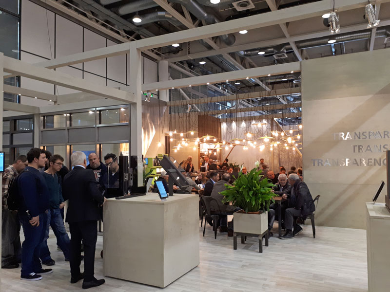 Forster Stand at Swissbau