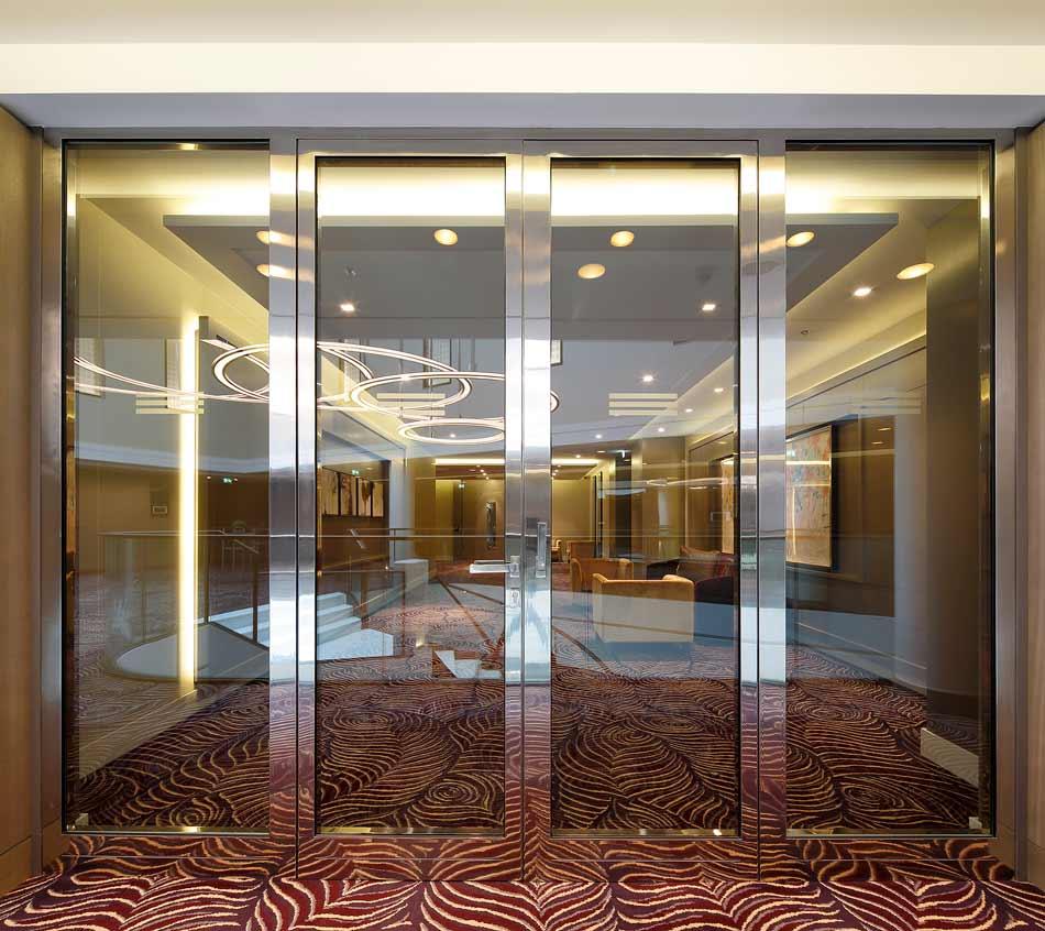 hotel waldorf astoria forster profilsysteme ag arbon. Black Bedroom Furniture Sets. Home Design Ideas