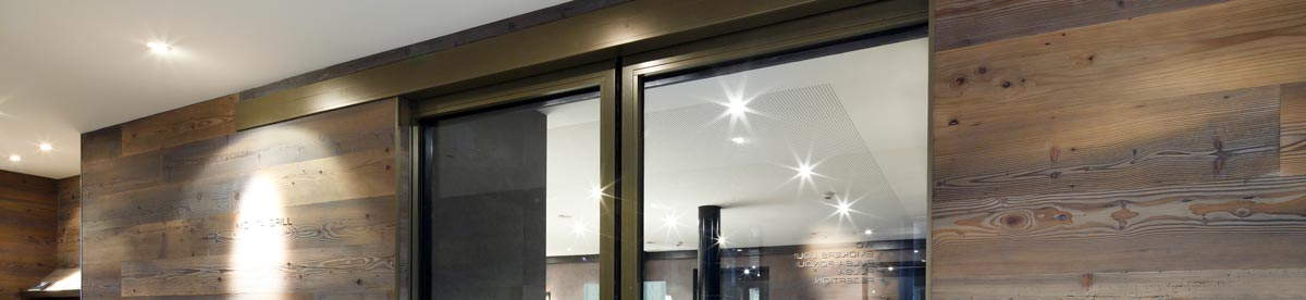 fire-resistant sliding door