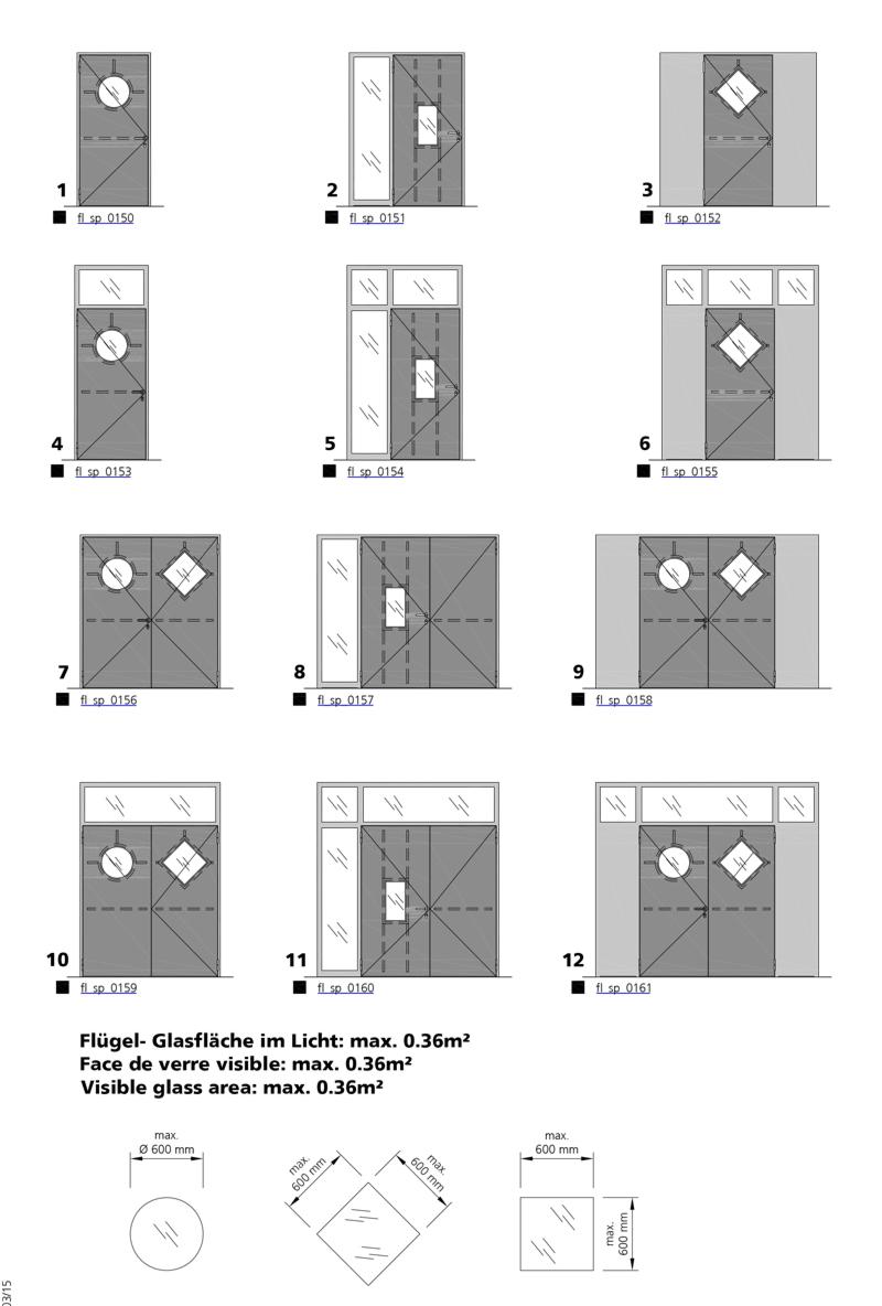 fire resistant sheet metal door forster profilsysteme ag. Black Bedroom Furniture Sets. Home Design Ideas