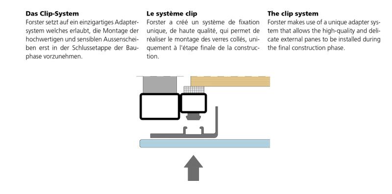 porte coupe feu aspect tout verre forster profilsysteme. Black Bedroom Furniture Sets. Home Design Ideas