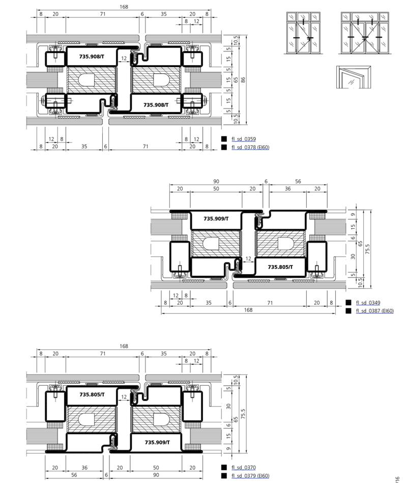 brandschutzt r in ganzglasoptik forster profilsysteme ag. Black Bedroom Furniture Sets. Home Design Ideas