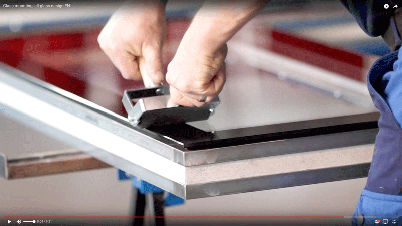verarbeitungs videos downloads forster profilsysteme ag arbon. Black Bedroom Furniture Sets. Home Design Ideas